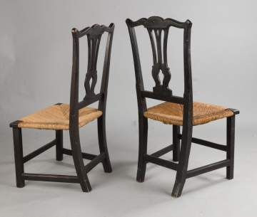 Two Chippendale Side Chairs