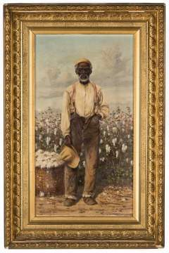 William Aiken Walker (American, 1838-1921) Cotton Picker