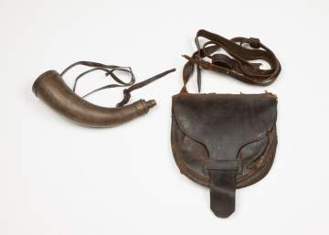 Hunting Pouch and Horn