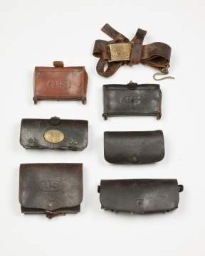 Indian Wars and Later Leather Goods