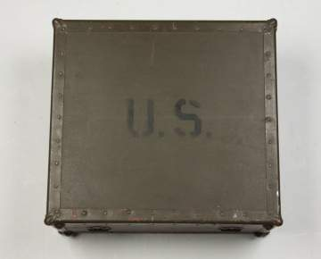 WWI US Field Phonograph
