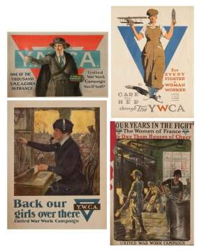 Four Vintage Posters