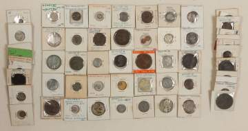 Group of Miscellaneous World Currency & Counterfeit Coins
