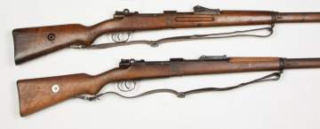 Two Mauser Rifles