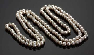 Japanese Akoya Cultured Pearl Necklace