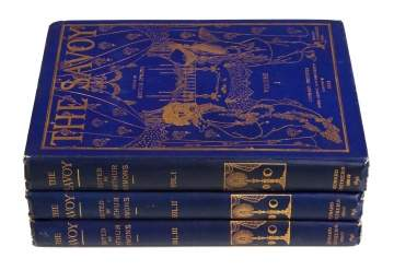"First Edition ""The Savoy Volumes"" I, II, & II"