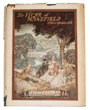 "First Edition ""The Vicar of Wakefield"" by Oliver Goldsmith, Illustrated by Arthur Rackham"