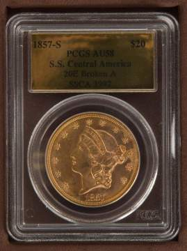 The S.S. Central America 1857 Double Eagle Gold Coin