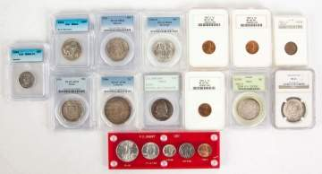Group or Various Graded Coins