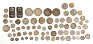 Group of American and European Silver Coins