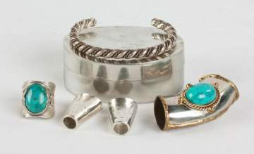 Bracelet, Ring and Scarf Holder