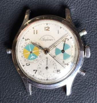 "Vintage Heuer For Abercrombie & Fitch ""Seafarer"" Ref. 2443 Chronograph With Tide Indication"