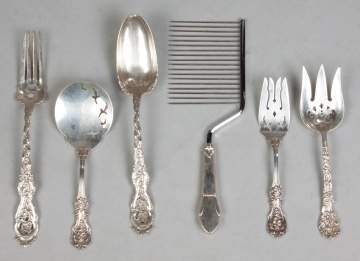 6 Sterling Silver Serving Pieces