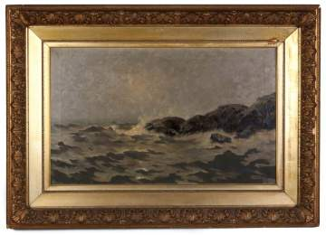 William Castle Keith (American 1863-1927) Untitled Seascape