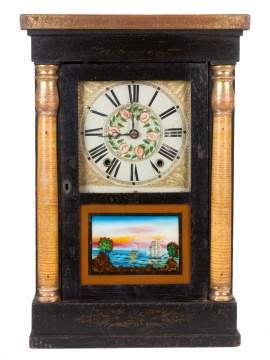 C. Jerome & Co., Richmond, VA, Miniature Shelf Clock
