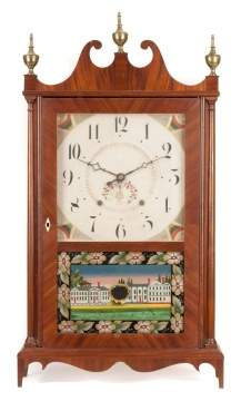 Seth Thomas Pillar & Scroll Shelf Clock