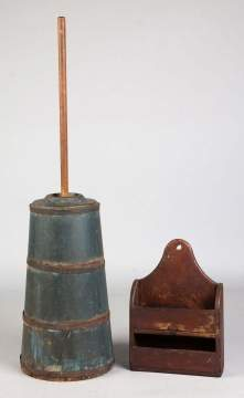Butter Churn & Wall Box