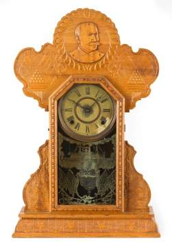 Ingraham Admiral Dewey Shelf Clock