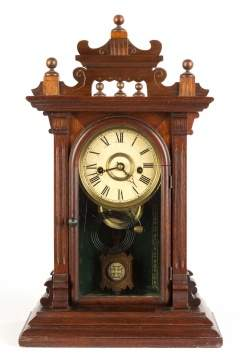 E. N. Welch Judic Shelf Clock