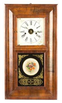E. N. Welch Ogee Wall Clock