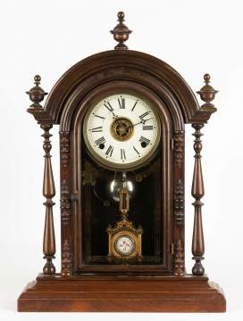 E. N. Welch Parepa Shelf Clock
