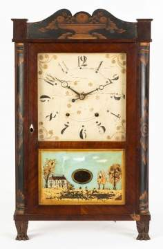 Eli Terry Jr. Shelf Clock