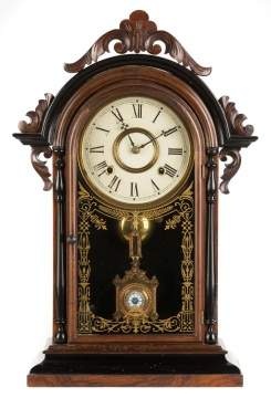 Rare E. N. Welch Hanging Italian Shelf Clock