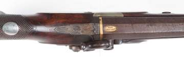 Mortimer Pistol with Gold Inlay