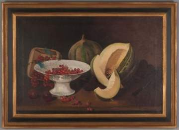 E. Peeters Still Life with Currants & Melon.