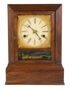 Atkins Whiting Roller Verge Miniature Cottage Clock