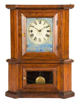 J. J. Beals Shelf Clock