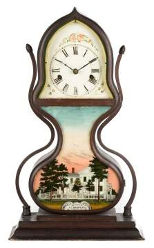 J.C. Brown Acorn Clock