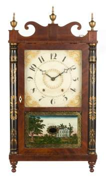 Chauncey Ives Jester Top Shelf Clock
