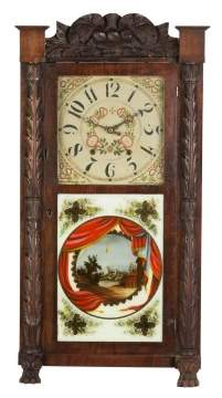 Rodney Brace Shelf Clock