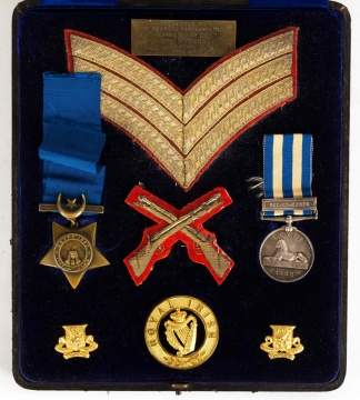 Royal Irish Army Military Medals and Emblems