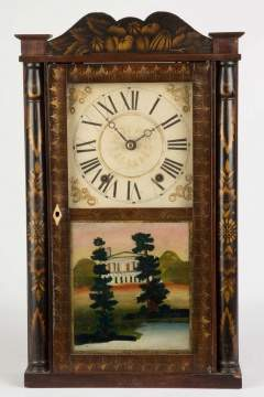 Eli Terry Jr. Miniature Shelf Clock