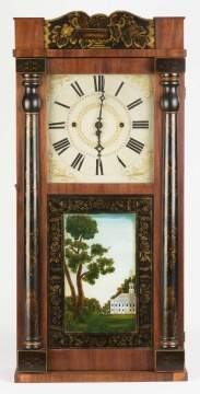 Lawyer Byington Shelf Clock