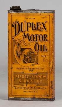 Pierce-Arrow Motor Oil Can
