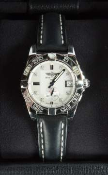 Breitling Galactic 36 Automatic Diamond &  Mother of Pearl Dial Ladies Watch