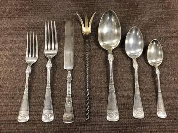 Group of Gorham Sterling Flatware