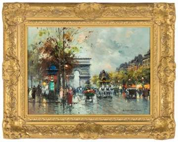 "Antoine Blanchard (French, 1910-1988) ""Arc de Triomphe"""