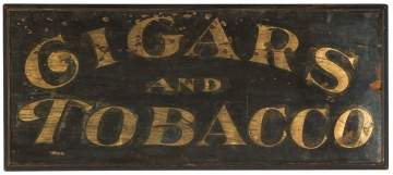 Vintage Cigars & Tobacco Sign