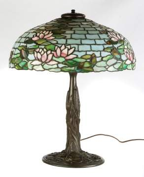 Duffner & Kimberly 'Water Lily' Table Lamp