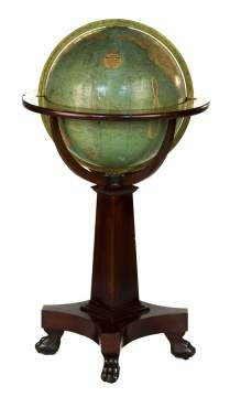 W. & A.K. Johnson Terrestrial Floor Globe