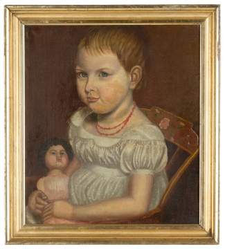 Primitive Portrait of A Child
