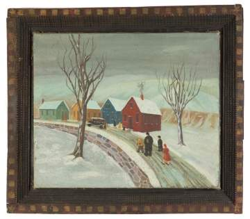 Early 20th Century Primitive Painting