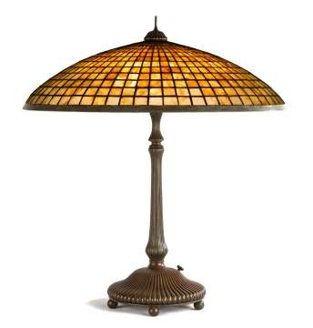 Tiffany Studios, NY 'Parasol' Table Lamp