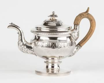 Fletcher & Gardiner (Thomas Fletcher [1787–1866] and Sidney Gardiner [1785–1827]), Philadelphia, Pennsylvania (active 1811–27) Silver Coffee Pot