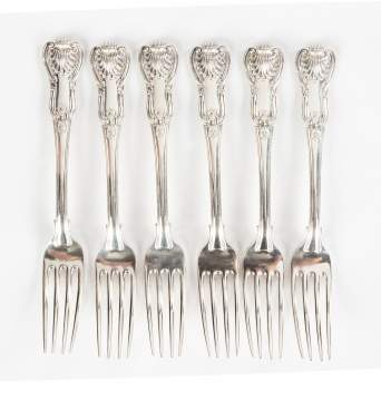 Paul Storr (1770-1844) Sterling Silver Forks
