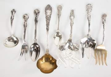 Group of Sterling Silver Serving Pieces